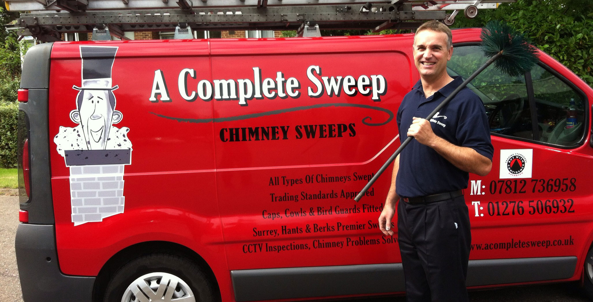 Surrey, Hampshire and Berkshires Premier Chimney Sweeping Service